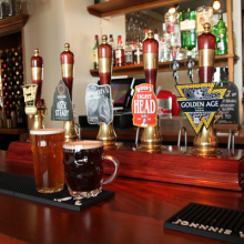 Great selection of real ales
