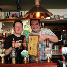 "CAMRA ""Bae Ceredigion Pub of the Year 2016"""